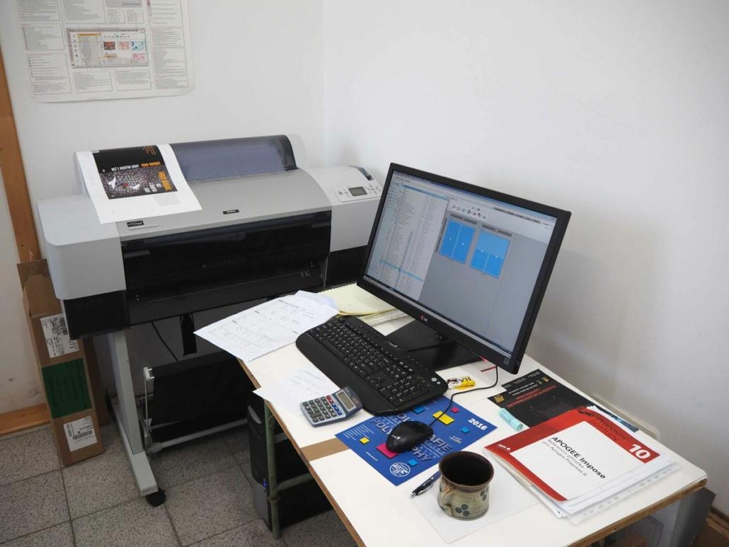 grafika a předtisková příprava tiskárna Vimperk
